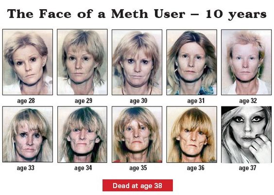 crystal meth users Because meth stimulates the central nervous system, meth users will often be kept wired and awake once the drug wears off, though, the user will crash, both physically and emotionally 5 signs of meth abuse.