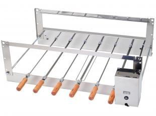 Churrasqueira Elétrica Arke Inox 6 Espetos - Rotativa 14