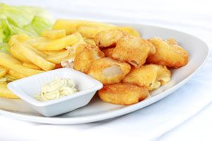 Oven-Fried Fish and Chips: Fish Seafood Recipes, Fish Chips, Fish And Chips, Chips Recipe, Chips Dr, Healthy Recipes, Oven Fried Fish, Oz Recipe