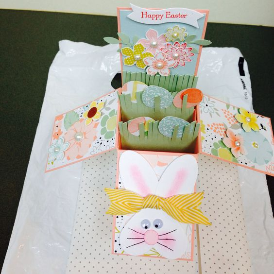 Easter card in a box card in a box Pinterest – Boxed Easter Cards