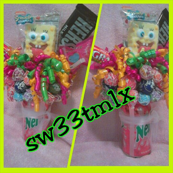 Soda bouquet!! Great surprise gifts for friends, famiky, kids, co workers!!