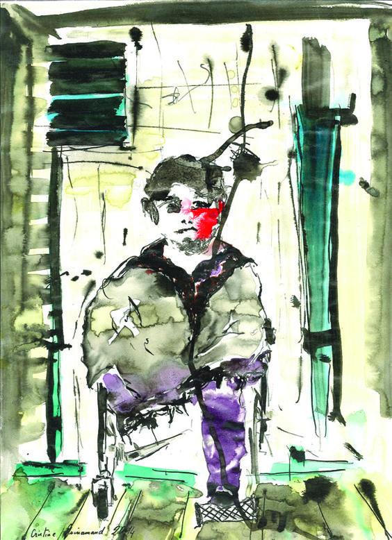 Comment aujourd'hui peindre, inventer un travail formel, tenir compte ou pas de l'histoire..? Cristine Guinamand s'aventure sur ce...