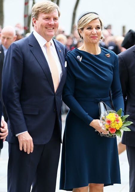 Koning W-Alexander en Koningin Maxima -Dutch Royals visit Erlangen and Nuremberg