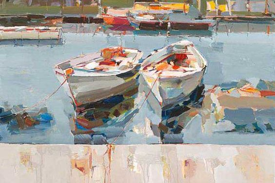 """""""Resting in Water"""" by Josef Kote size 20x30"""