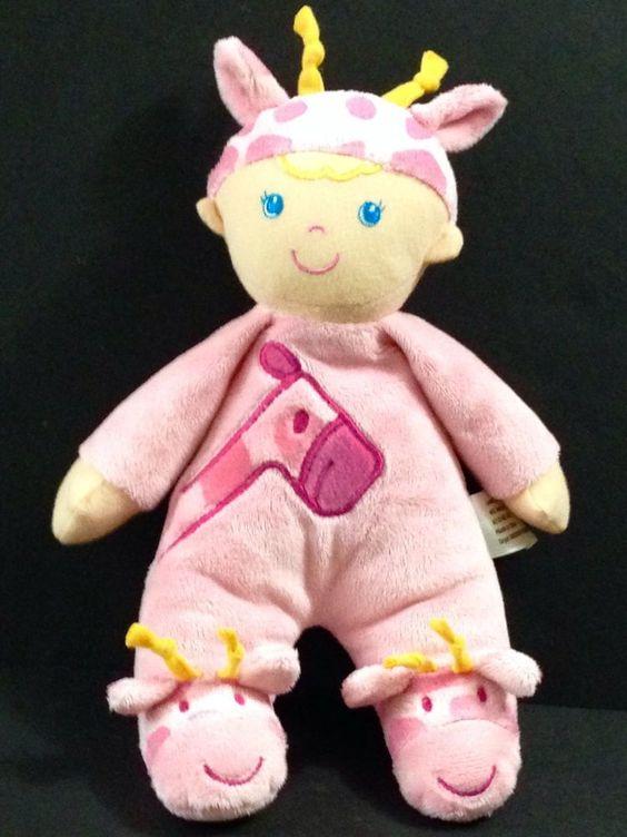 Target Pink Giraffe Doll Costume Plush Levatoy Soft Stuffed Lovey #Levatory