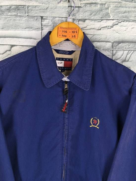 Tommy Hilfiger Tommy Hilfiger Jacket Medium Vintage 90s Tommy Jeans Blue Harrington Jacket Casual Tommy Hilfiger D Tommy Hilfiger Outfit Tommy Hilfiger Clothes