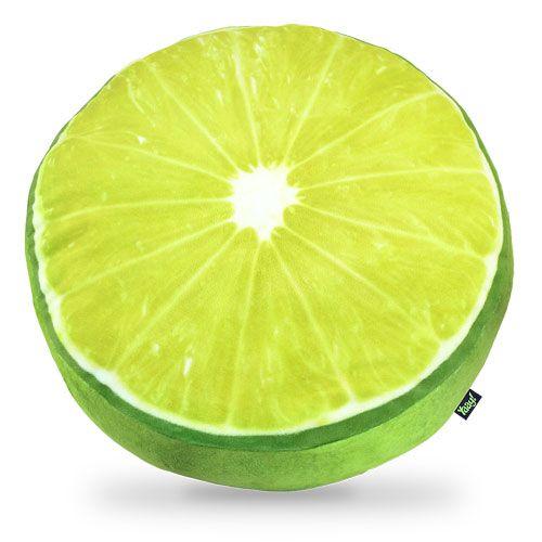 Almofada Fatia de Limão, para dar um toque alegre e diferente no design do ambiente.