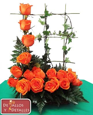 Detallos y detalles todo en arreglos florales - Arreglos florales artificiales centros de mesa ...