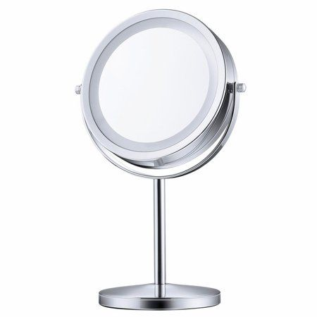 Makeup Mirror With Lights And Magnification Double Side Vanity