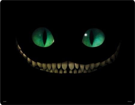 The Cheshire Cat in Tim Burton's Alice in Wonderland