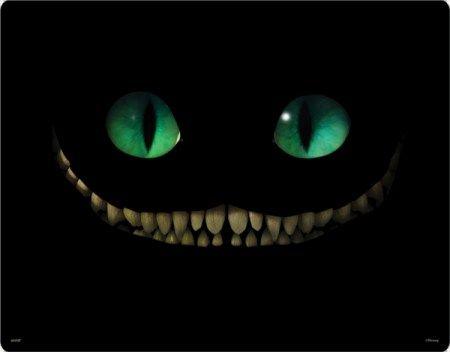 The Cheshire Cat in Tim Burton's Alice in Wonderland