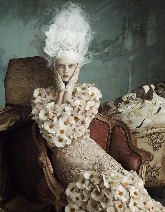 Cool Chic Style Fashion: Editorials   Opulenz À La Marie Antoinette: Dolce & Gabbana Alta Moda by Luigi + Iango for Vogue Germany April 2014...