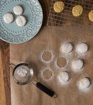 Pistachio rosewater cookies | ethnicspoon.com