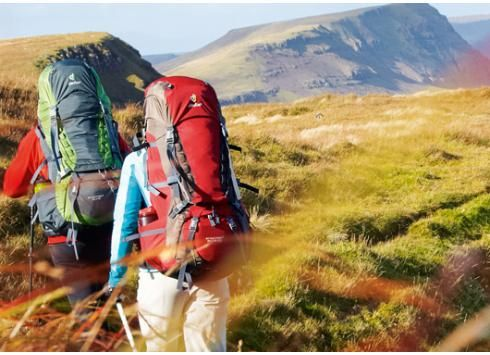 Hike, Climb, and camp with Deuter Backpacks found on Portmantos.com:
