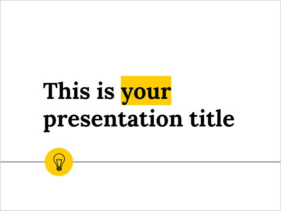 with a style suitable for any theme and content, this free, Presentation templates