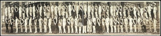 #7.Miss America 1927, Inter City Beauties-Atlantic City Pageant-foto: Atlantic City Service Boardwalk/the 7th Miss America pageant, was held at the Million Dollar Pier in Atlantic City, New Jersey on September 9, 1927.King Neptun as Eddie Dowling. The winner was 16 year-old Lois Delander who competed as Miss Illinois. She won the Miss America title on her parents' twentieth wedding anniversary. This marked the last pageant to be held in the 1920s, the next Miss America competition would not…
