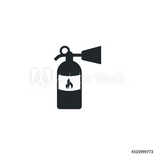 Fire Extinguisher Icon Template Color Editable Fire Extinguisher Symbol Vector Sign Isolated On White Background I In 2020 Web Design Photos For Sale White Background