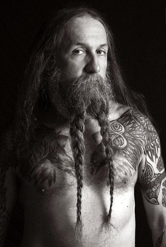 Beard pigtails beardtails braids braided beards bearded man beard pigtails beardtails braids braided beards bearded man men full thick natural length long hair tattoos tattooed beards pinterest hair ccuart Images