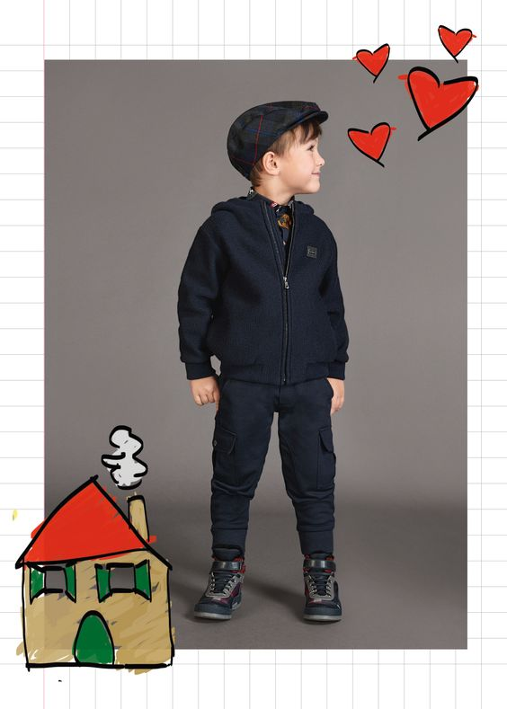 Dolce & Gabbana Children Boy Collection Fall Winter 2017-18 | Dolce & Gabbana
