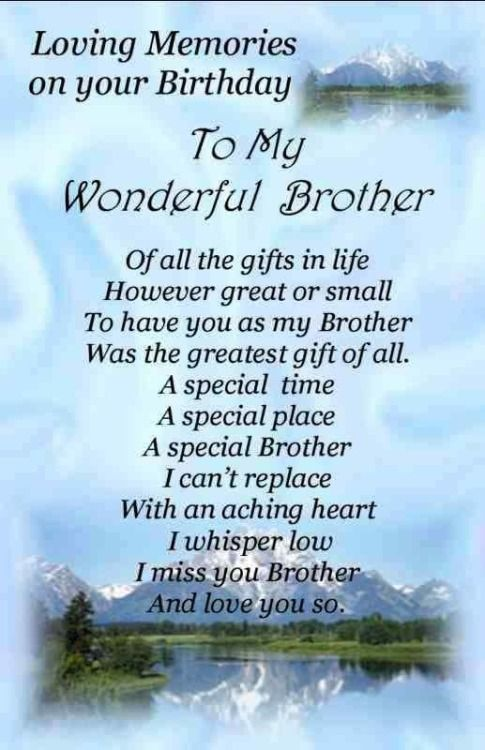 In Memory Of Dad On His Birthday Brother Birthday Quotes Birthday In Heaven Quotes Heaven Quotes