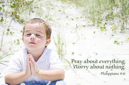 Pray! Always a good solution!