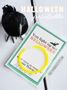 Cute idea!  Free printable.
