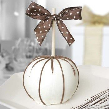 Wedding chocolate apples.: