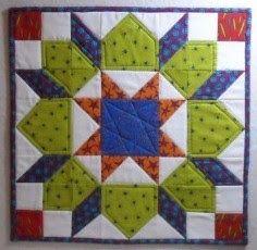 Double Nickel Quilts: Nickel mini quilt