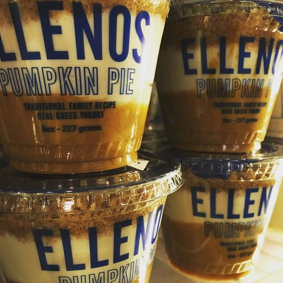 This is how every Seattleite knows it is fall.  Stop by and stock up on this yumminess!! It's so good it should be illegal. @ellenosyogurt #seattle #ellenos #fall #localwisdom