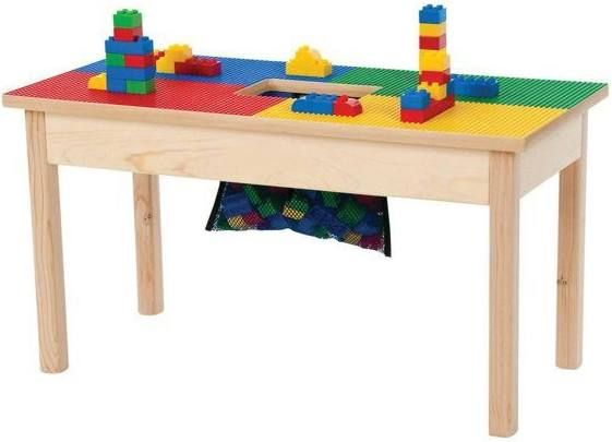 Lego Table With Chairs Kids And, Lego Table With Chairs And Storage