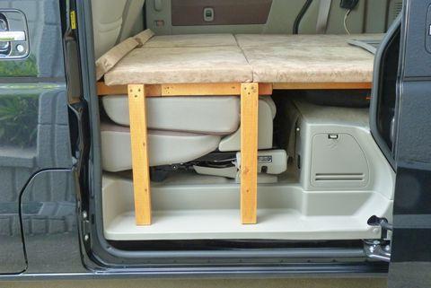 木製フルフラットベッドの製作 Sl エブリイ ホームメイドキャンパー ブログ 車 内装 Diy エブリィ 内装 エブリィ