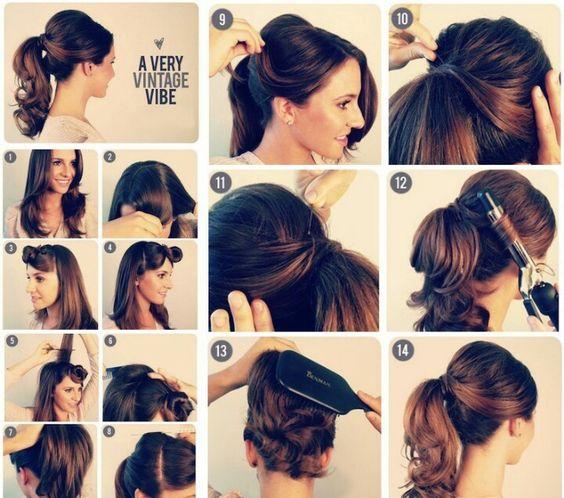 Enjoyable Easy Stylish Ponytail Hairstyle Pinterest Stylish Ponytail Short Hairstyles For Black Women Fulllsitofus