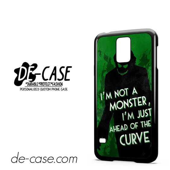 Joker Quotes DEAL-5941 Samsung Phonecase Cover For Samsung Galaxy S5 / S5 Mini