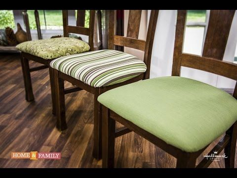 Basic Upholstering Dining Chairs