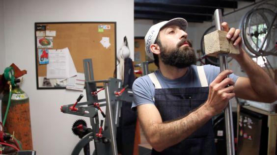 Distrito Fijo, un atelier de bicicletas hechas a la medida