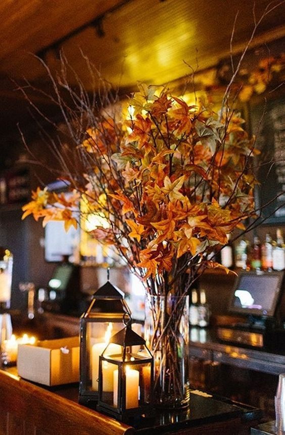 Pottery Barn Fall Leaf Branches on Sale, 55% Off | Wedding Decorations on Sale…
