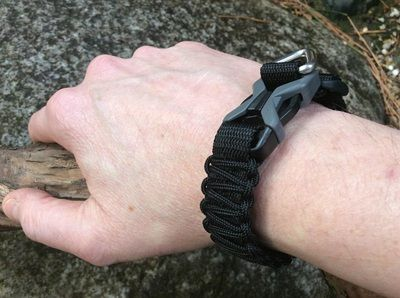 The ULTIMATE Paracord Bracelet.  Totally adjustable and available soon @ www.alpenlore.com/shop1