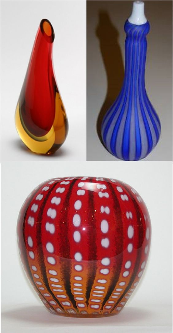 Shown below are examples of Murano glass. Largest Selection Murano Glass