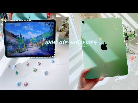 Green Ipad Air 4 256gb Apple Pencil 2nd Gen 2020 Chill Asmr Unboxing Accessories Youtube In 2021 Ipad Air Accessories Ipad Air Wallpaper Ipad Air