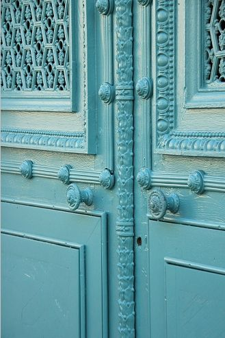 Door in Vesoul, France