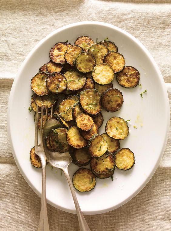 Recette de salade de zucchini froids à la menthe de Ricardo