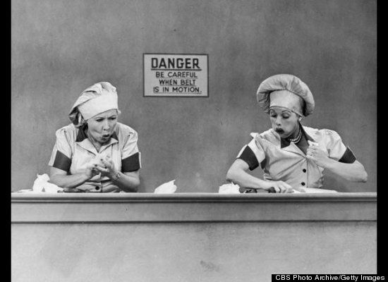 I have had my Lucy moments....or was I Ethel?