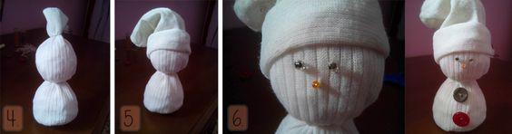 DIY muñeco nieve