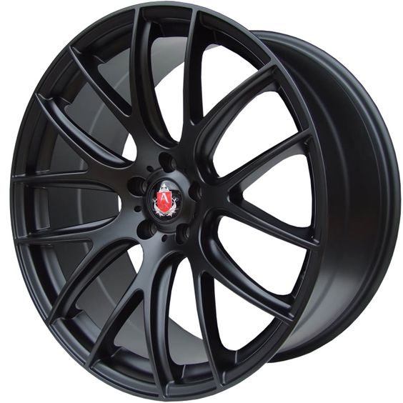 AXE CS LITE MATT BLACK alloy wheels with stunning look for 5 studd wheels in MATT BLACK finish with 18 inch rim size