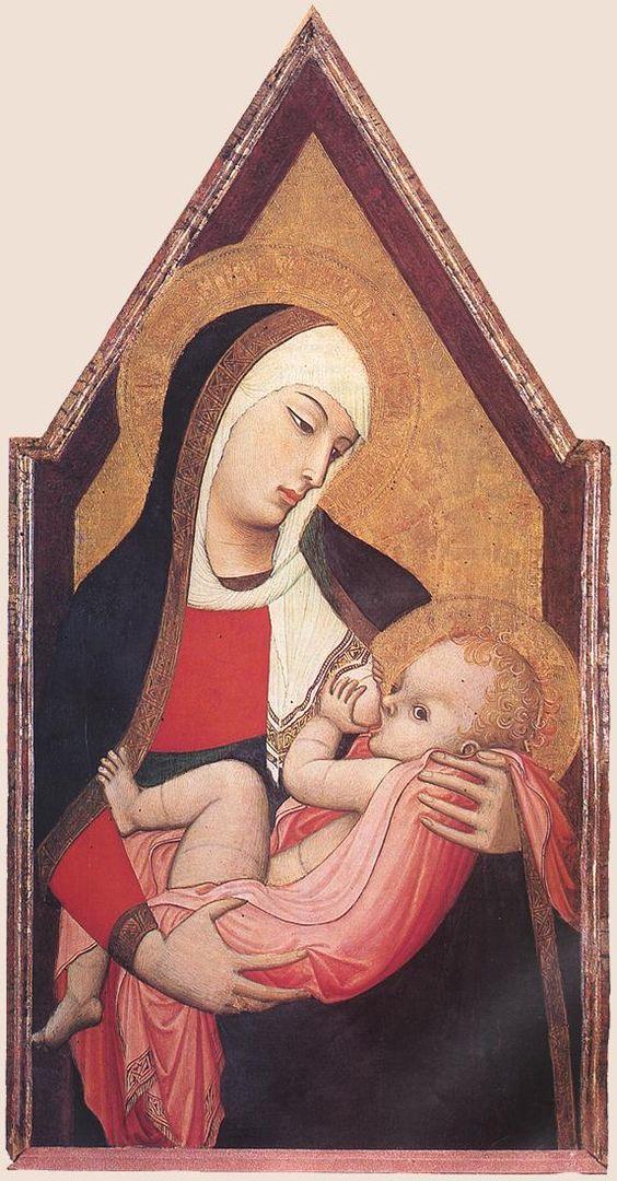 Ambrogio Lorenzetti, Madonna che allatta