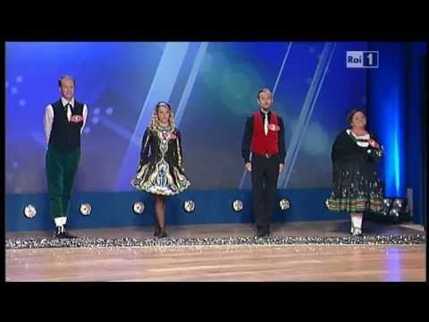 Italian game show where contestants have to guess which one the Irish Dancer is... Colpo d'Occhio - Danza Irlandese
