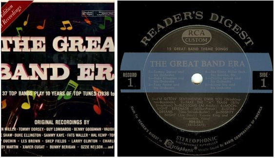 Various Artists The Great Band Era 1936 1945 1964 Reader S Digest Rd 25 K Album 12 Vinyl 10 Lp Box Set 52 50 Great Bands Boxset Lp Box