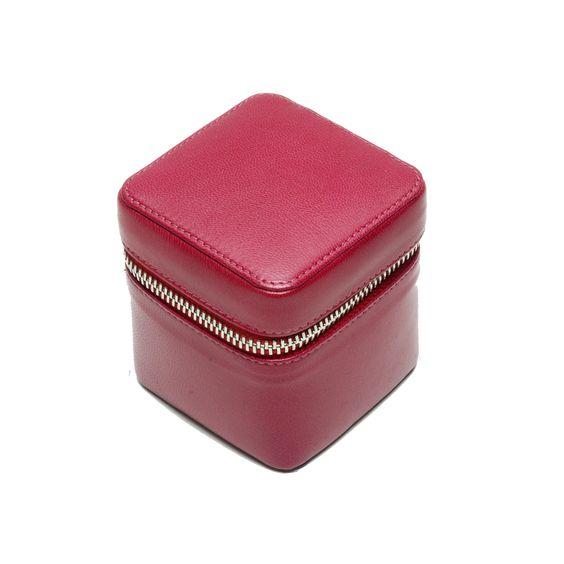 TUSK SIAM SMALL ZIP JEWELRY BOX STYLE# JR5143-TOUPA