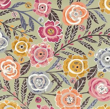 Graphic soft flower print