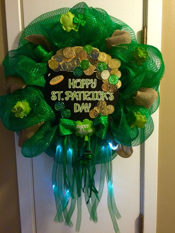 Paddys Day wreath!